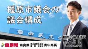 橿原市議会の議会構成