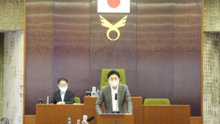 令和3年6月議会一般質問写真